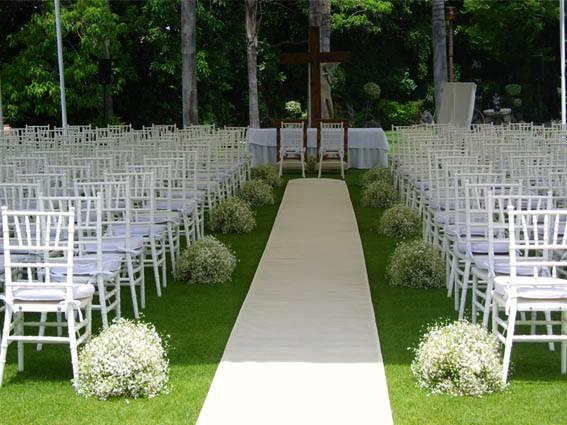 Bodas - Decoracion jardin boda civil ...