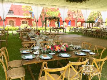 jardines con alberca para eventos sociales