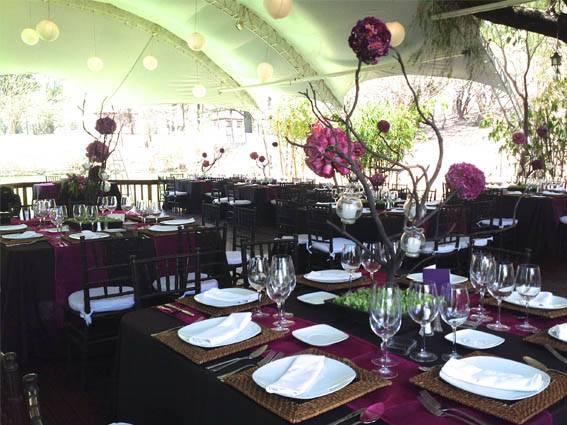 mobiliario orgánico para bodas