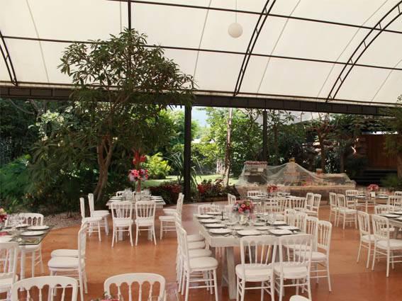 jardines techados para bodas